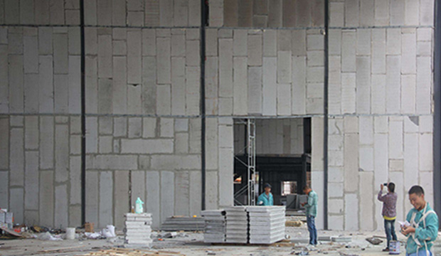 厂房高墙防火墙工程案例