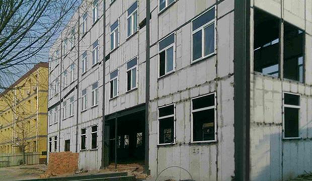 工厂厂房整体隔墙板建筑案例